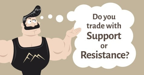 Should You Use Support Or Resistance in Forex Trading?