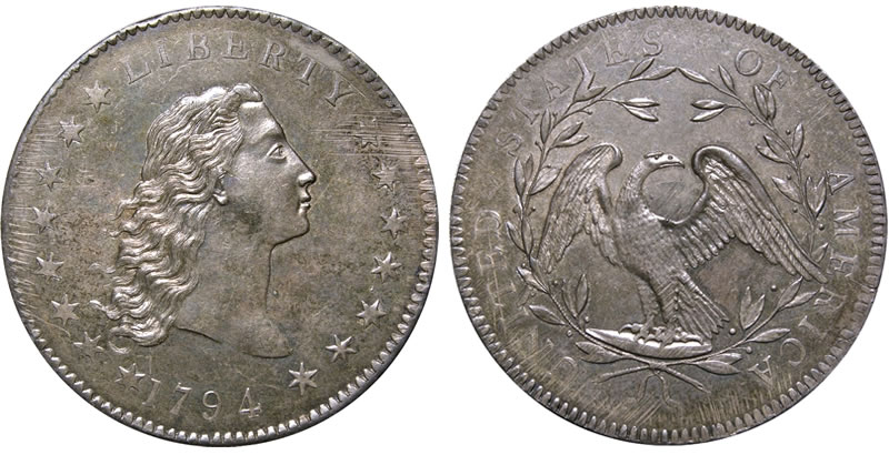 The First Silver US Dollar