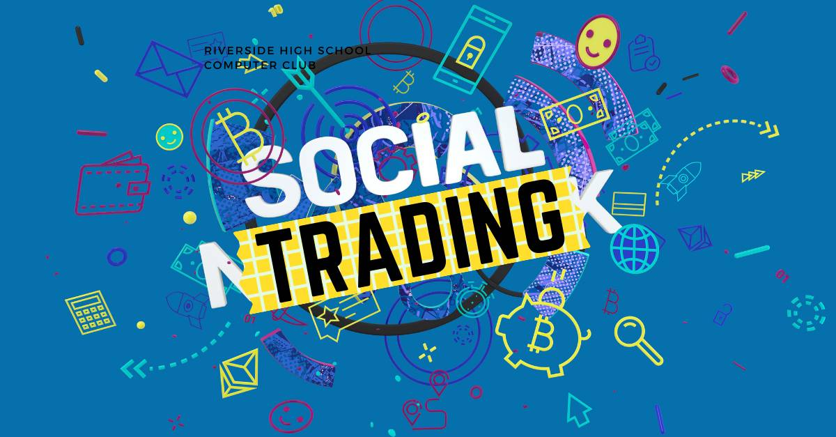 illustration of how social trading works