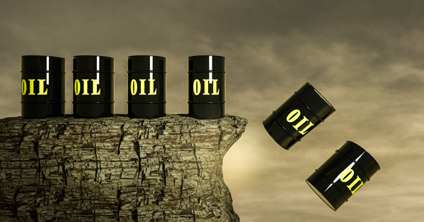 Huge fall in demand for oil