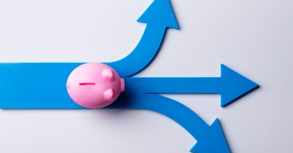 Piggy bank, money, investment options