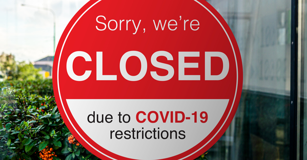 Shopping centre closed due to COVID-19