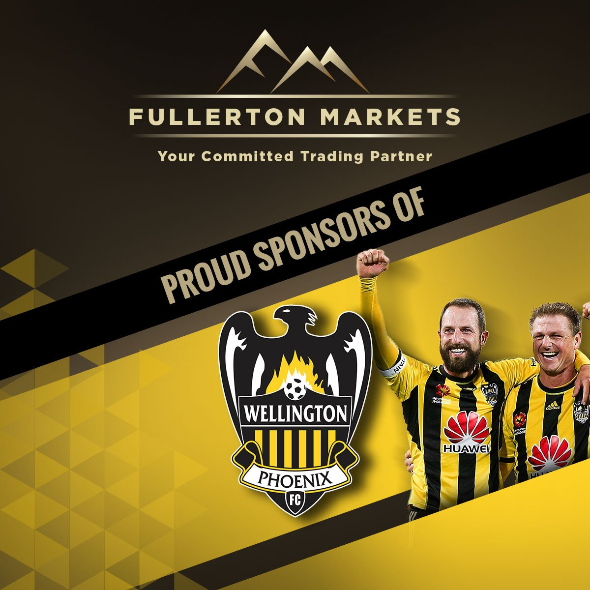 Proud Sponsors of Wellington Phoenix Football Club