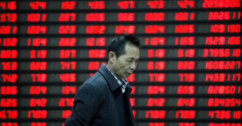 China Stocks Raise Fears on Global Growth Outlook