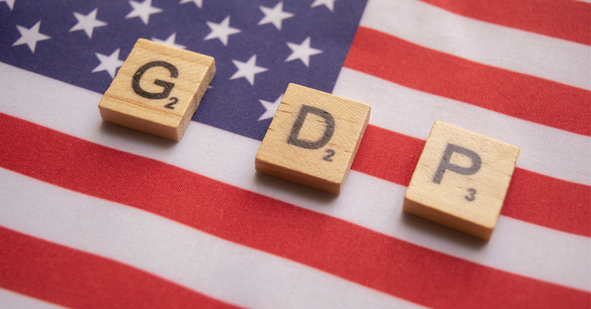 US Likely To Report The Worst GDP Since 2009